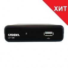 Купить эфирный цифровой приёмник CADENA CDT-100