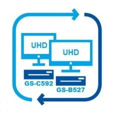Обмен на комплект для просмотра на двух экранах GS B527 GS C592